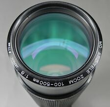 Minolta 100-500mm f8 APO MD Nikon SLR mount   #1001201