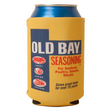Old Bay Can Koozie Can Seasoning Crab Seafood Gift Drink Can Cooler