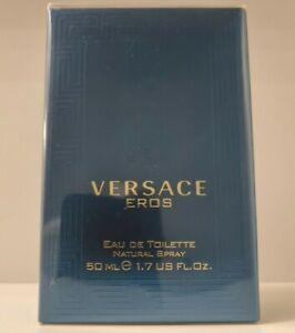 Versace Eros For Him Eau de Toilette Natural Spray 50ml Men's Fragrance *Sealed*