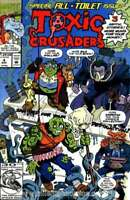 Toxic Crusaders #4 in Near Mint minus condition. Marvel comics [*xh]