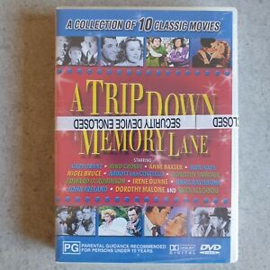 A Trip Down Memory Lane: 4 disc DVD - 10 Classic Hollywood Movies (All Regions)