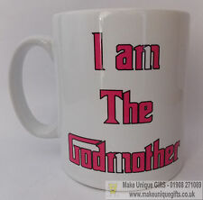 Novelty mug for godmother ideal gift at Christenings or birthdays