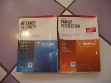 McAfee Internet Security 2013 and Family Protection-New
