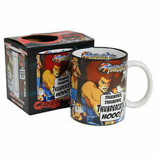 THUNDERCATS MUG - Cartoon Retro 80's Kids Anime - Coffee Tea Kitchen Home BNIB