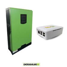 Inverter onda pura edison 4KW  48V PWM 50A con connessione internet fotovoltaico