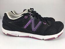 New Balance Minimus 730 Women US 7.5 Black + Purple Athletic Running Shoes