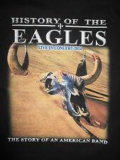 2014 History Of Eagles Concert Tour (Med) Shirt Joe Walsh Glenn Frey Don Henley