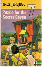 Enid Blyton - PUZZLE FOR THE SECRET SEVEN #10 ( Knight Edition PB; 1971)