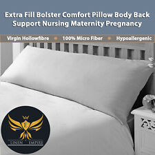 Extra Fil Bolster Comfort Pillow Body Back Support Nursing Maternity Pregnancy