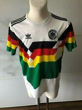adidas DFB Deutschland WM 1990 1986  M Retro Trikot Weltmeister grün