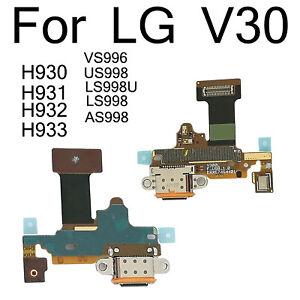Original For LG V30 H930 H931 H932 H933 VS996 US998 USB Charging Port Flex Cable