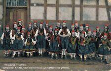 Germany Hessische Trachten Schwälmer Kinder 02.11