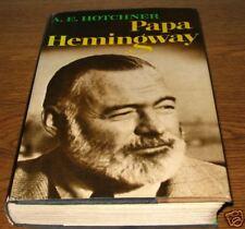 PAPA HEMINGWAY A E Hotchner First 1st Edition Ed