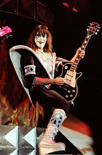"""12""""*18"""" concert photo of Ace Frehley playing with Kiss at Wembley in 1980"""