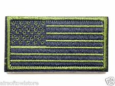 Airsoft OD US National Flag Army Military Uniform Velcro Patch AEG Cosplay (389)
