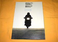 BMW Motorräder Boxer K-Serie 1985 Prospekt Brochure Depliant Prospetto Catalog