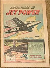 ADVENTURES IN JET POWER 1950 GENERAL ELECTRIC GIVEAWAY PROMO COMIC F RARE