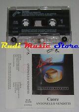 MC ANTONELLO VENDITTI Cuore 1984 ITALY HEINZ MUSIC HLK 72370 no cd lp dvd vhs