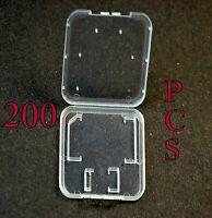 2000 Jewel Case For Sandisk 4gb 8gb 2gb SD HC TF MicroSD Transflash memory card