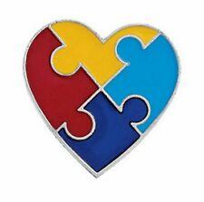 48 Autism Awareness PINS puzzle piece design NICE lapel tac pin April awareness