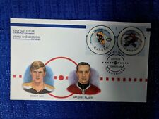 NHL CANADA POST 2000 NHL ALL-STAR GAME DAY OF ISSUE BOBBY ORR JACQUES PLANTE