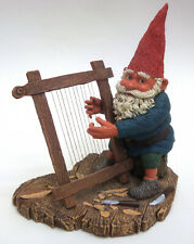Vintage Gnome Cornelius Autographed Klaus Wickl Signed Enesco Figurine 1994