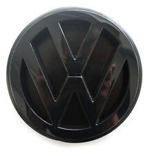 VW-Zeichen Original VW T4 Tuning Zeichen Satinschwarz Heckklappe Emblem OVP!