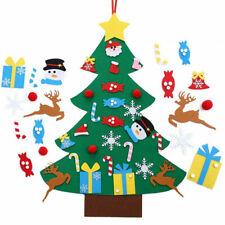 Filz Weihnachtsbaum Dekoration Weihnachtsbaum für Kinder DIY Geschenk  95*70cm