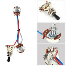 3-Way Switch Double Electronic Circuit Guitar 1V/1T 500K Wiring Harness Parts