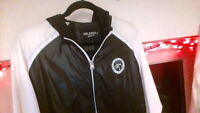 gay scally mens black and white new college south korea and dixon ffl jacket xl