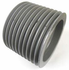 """10 GROOVE SHEAVE PULLEY, UNKNOWN BRAND, 7 3/4"""" FACE WIDTH, 10 5/8"""" DIAMETER"""