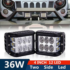36W LED Light Work Flood Combo Side Shooter Driving For Off Road SUV TractorATV0