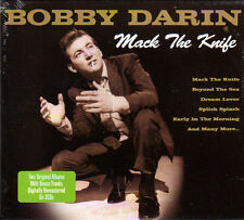 BOBBY DARIN - MACK THE KNIFE - 2 ORIGINAL ALBUMS PLUS BONUS TRACKS (NEW 2CD)