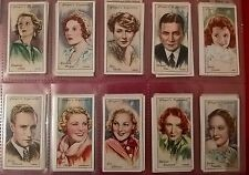 JOHN PLAYERS 1930S CIGARETTE CARDS IN SLEEVE - ORIGINAL