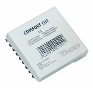 TONDEO 1 x 10 Klingen Comfort Cut für Messer Comfort Cut Nr. 1111