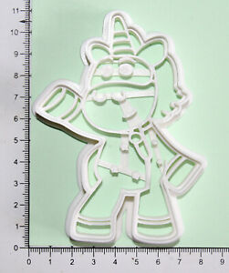 Go Jetters Ubercorn Cookie or fondant  Cutter 3d printed