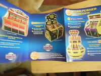 SOCCERSHOT    ARCADE GAME  FLYER