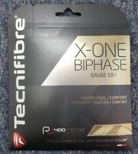 Tecnifibre X-One Biphase 18 Gauge 1.18mm Tennis String NEW Natural