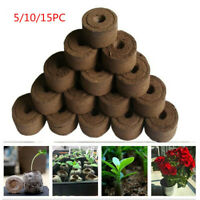 30mm Pellets Seed Starting Plugs Pallet Seedling Soil Block Easy to Operate