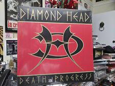 DIAMOND HEAD - DEATH and PROGRESS - LP HEAVY METAL MUSIC