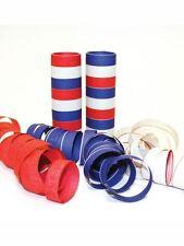 Red, white & blue serpentine rolls