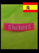 PULSERA SILICONA ★★ REAL MADRID en Rosa o Amarillo ★★ FUTBOL FOOTBALL