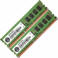 Memoria Ram 4 Dell PowerEdge Desktop R210 II R320 R410 R510 R620 2x Lot
