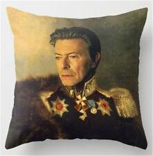 David Bowie portrait cushion cover
