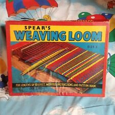 1940's/50's? Spear's Weaving Loom Boxed Set Size 3 Looks all here!