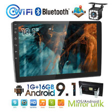 "10.1"" 2Din Radio de coche Android 9.1 GPS WiFi MP5 USB FM Bluetooth +con cámara"