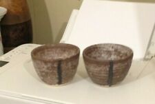 McCarty's Pottery SET Nutmeg Cup/ BOWL NEW OLD FASHION STYLE NEW NEVER USED!