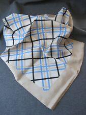 Vintage unused mint nice design & colors 100%silk Glintex Japan Scarf