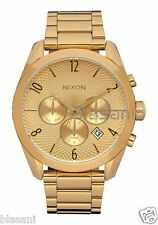 Nixon Original Bullet Chrono A366-502 Gold 42mm Watch