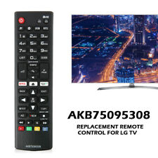 New AKB75095308 Remote Control Replace for LG Smart TV 43LJ5550 49LJ550M 55LJ555